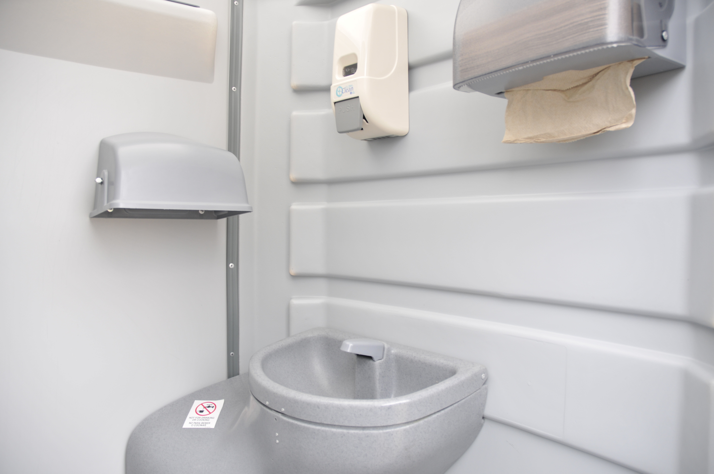 Portable toilets in Muskoka.