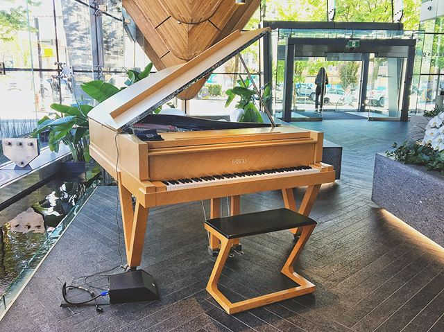 It was nice to be back at Telus Garden this week to play the gorgeous Fazioli 🎹 🎶 #pianogram #vancouverlife #pianistsofinstagram