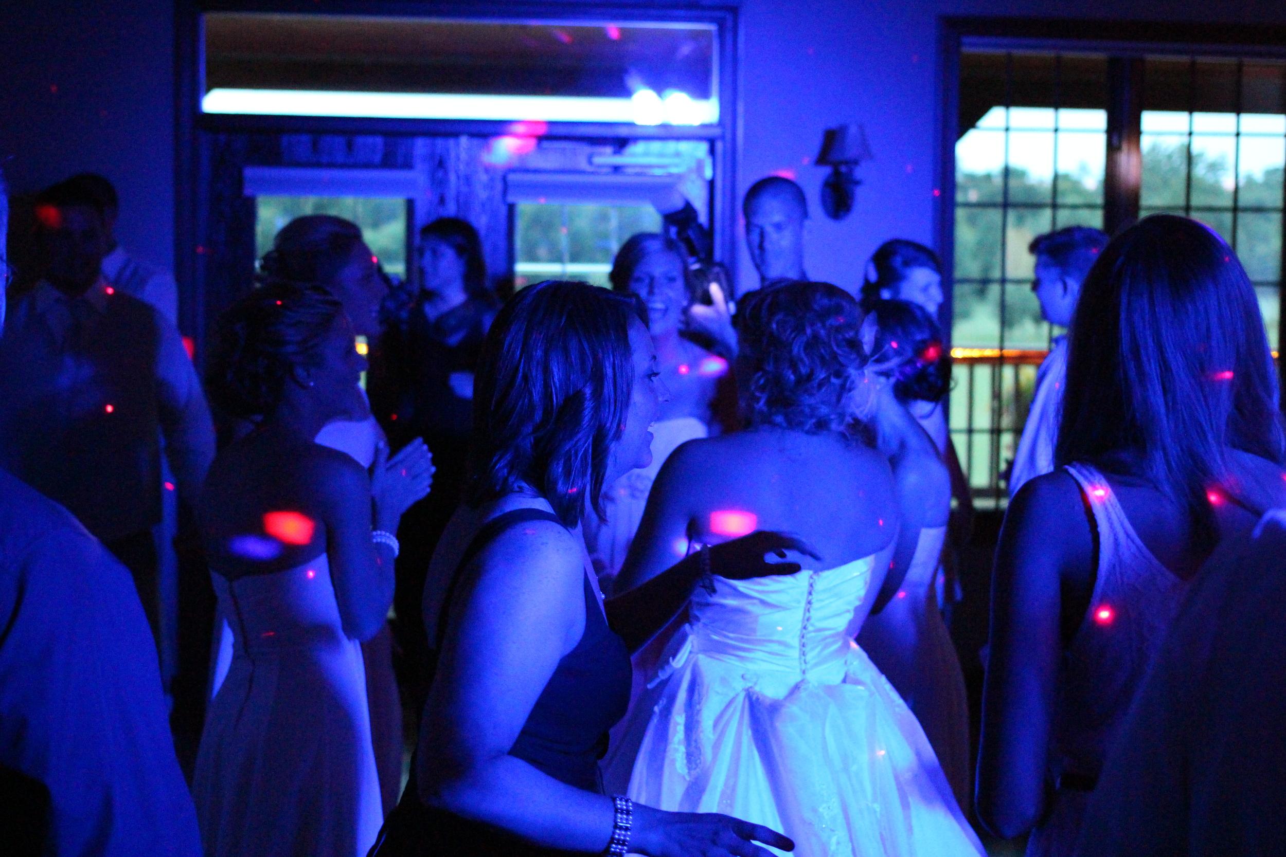 Sure Tones Entertainment   blue wash lights with active effect lights