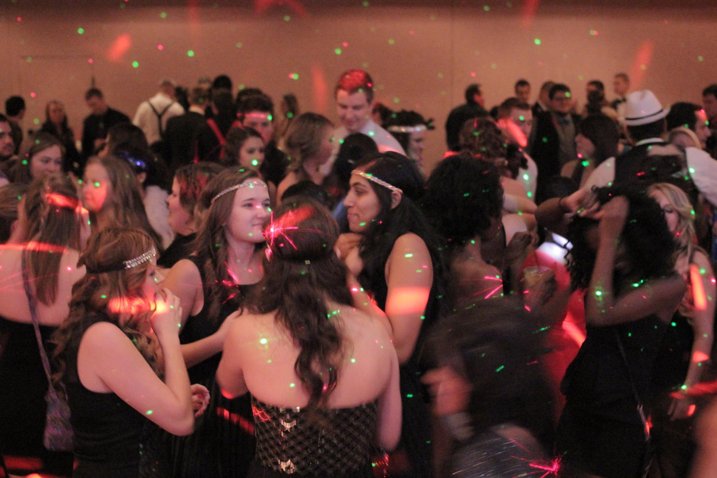 Sure Tones Entertainment   dance party with active laser lights