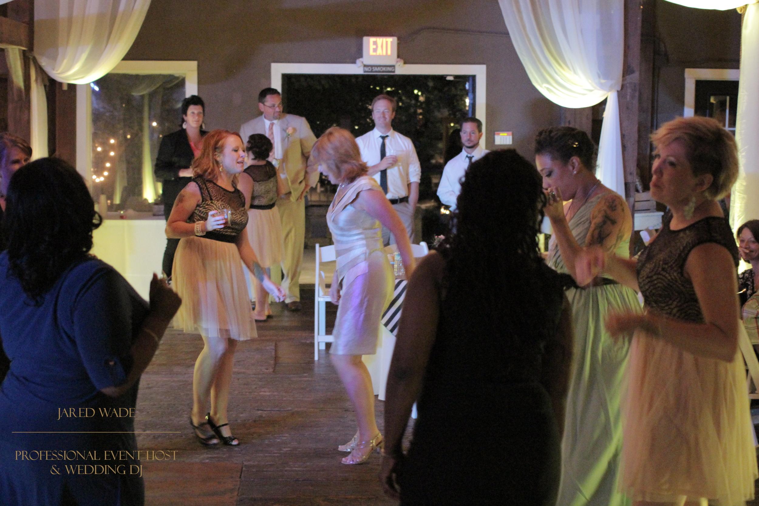 Jared Wade Professional Event Host | Indianapolis Wedding DJ | Mustard Seed Gardens | Barn Wedding