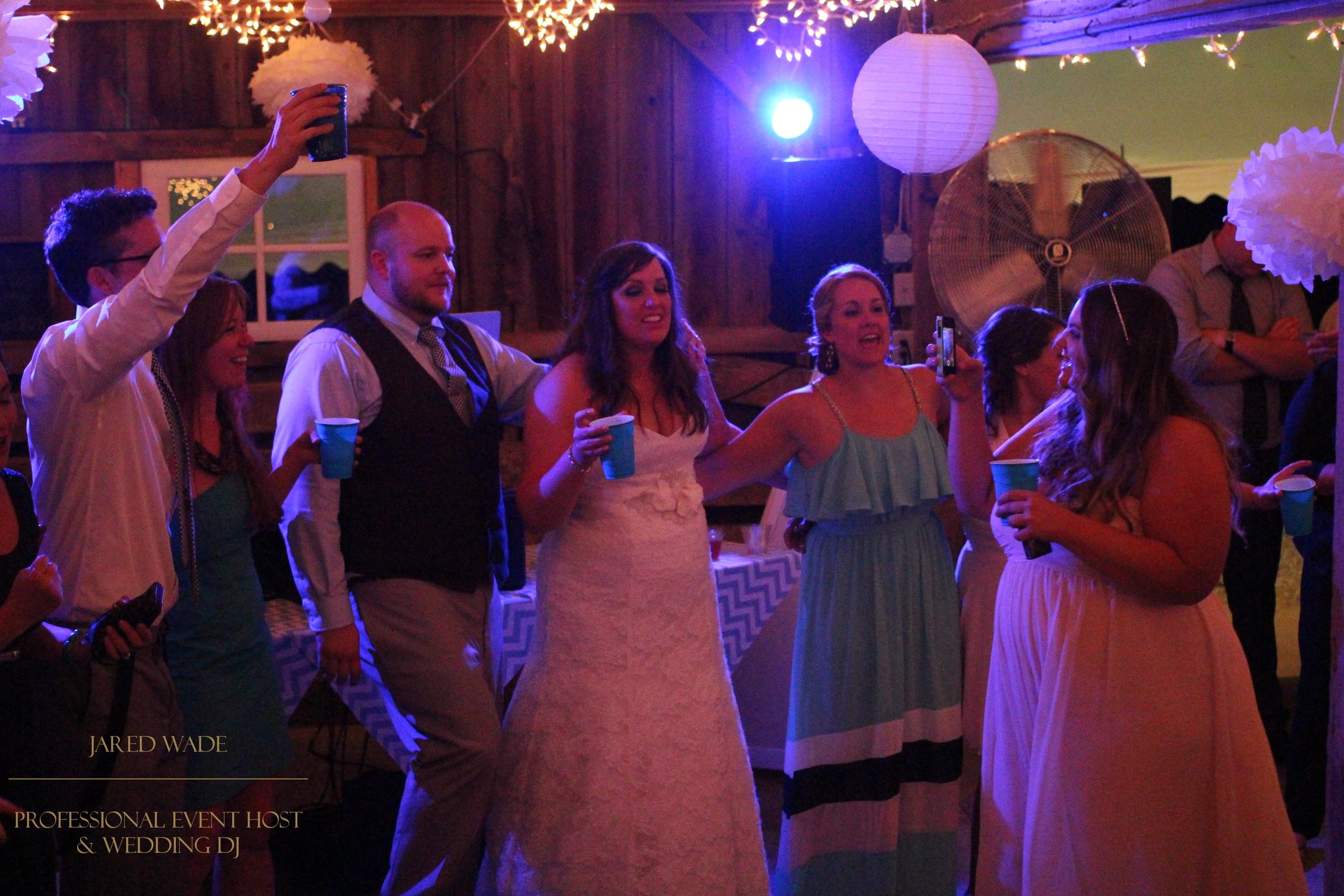 Jared Wade Professional Event Host | Indianapolis Wedding DJ | Indiana Barn Wedding | Dulls Tree Farm