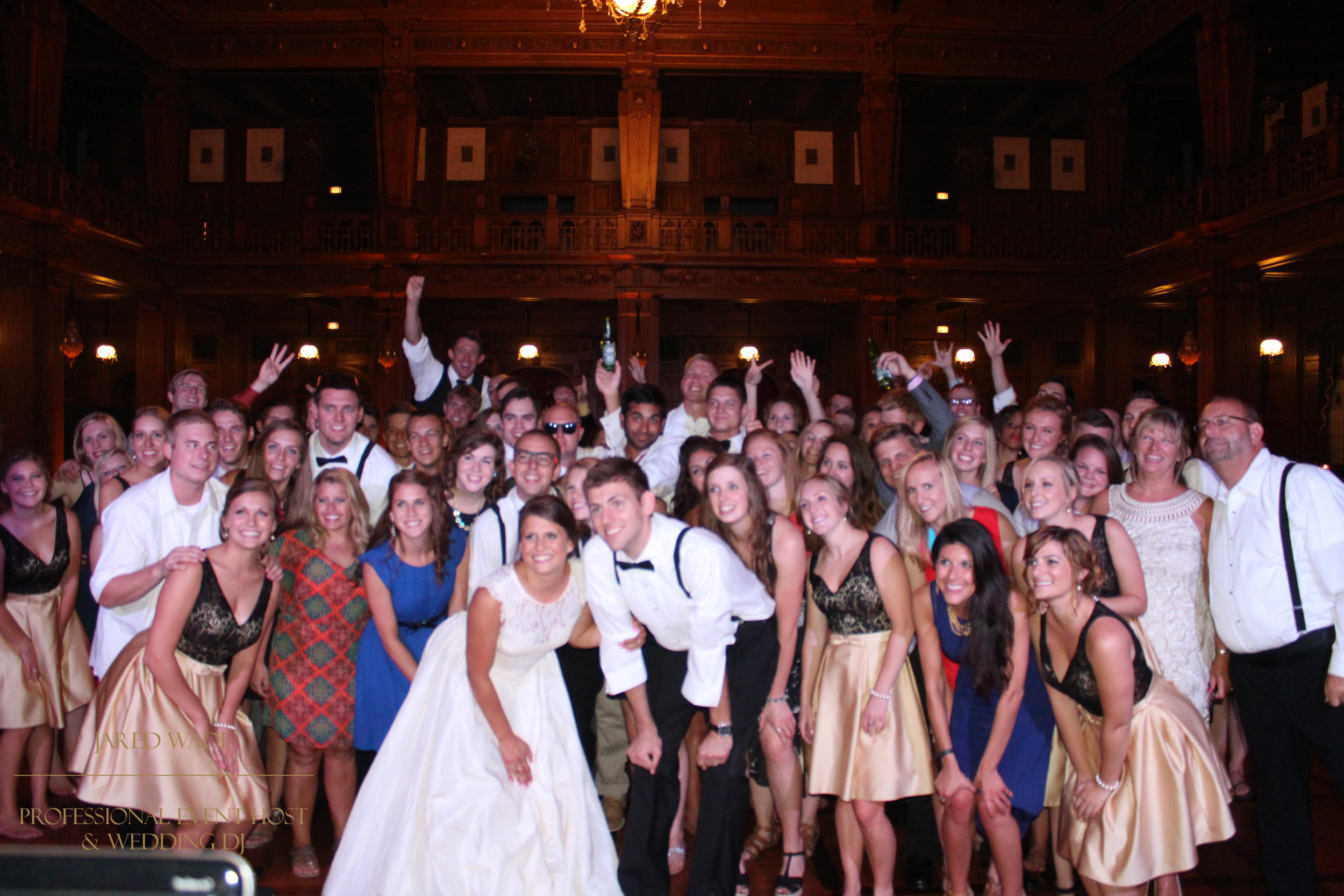 Jared Wade | Professional Event Host | Indianapolis Indiana Wedding | Scottish Rite Cathedral | Big Dance Party
