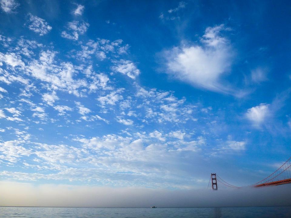 "I ""heart"" the Golden Gate Bridge, Feb. 14, 2014"