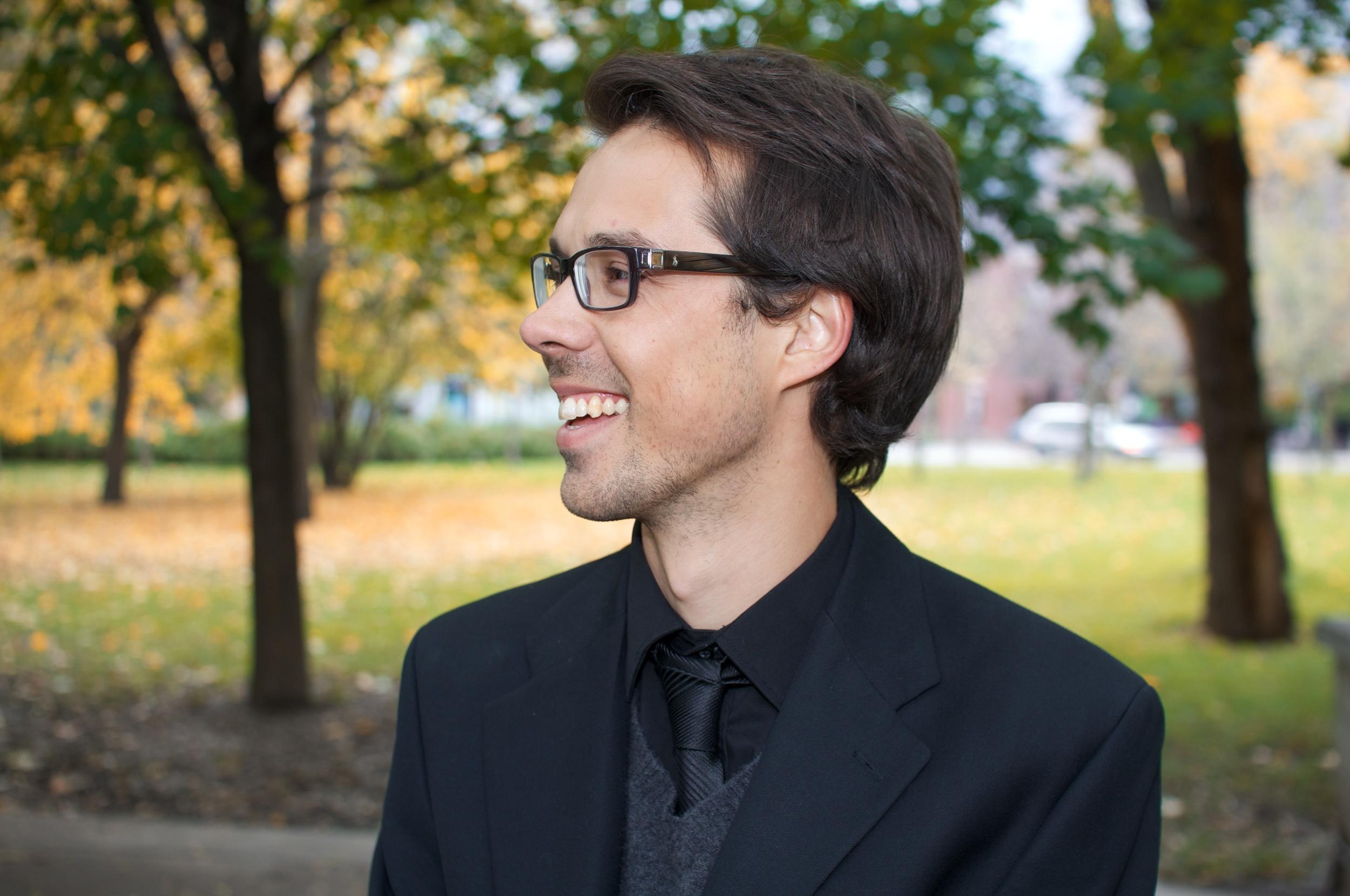Ludovic Glorieux, B.A., B.Mus. Ms.Econ., violoncelliste & co-fondateur