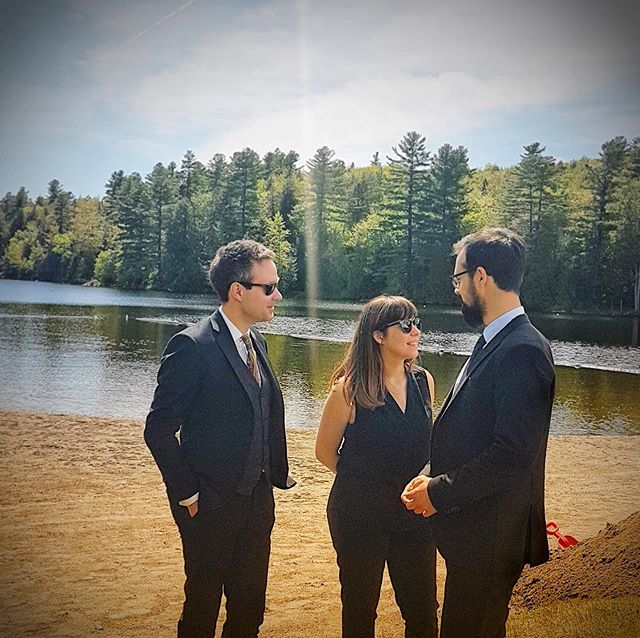 Summer vibe and cool shades 😎 • • • • • #suit #outdoors #tie #suits #suitup #suitandtie #gentleman #dapper #singer #gentlemen #bespoke #musician #gq #rock #sartorial #song #menwithclass #concert #edm #menswear #producer #band #livemusic #songs #outside #wilderness #outdoor #getoutside #scenery #classy @tigerofswedenmontreal