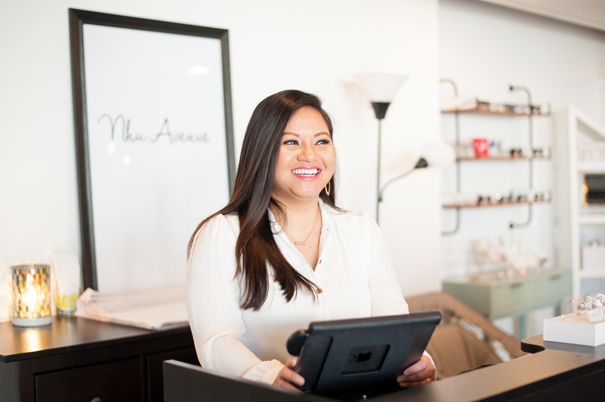 Empowering Women of Oklahoma - Lanh Nguyen, Owner of Nhu Avenue