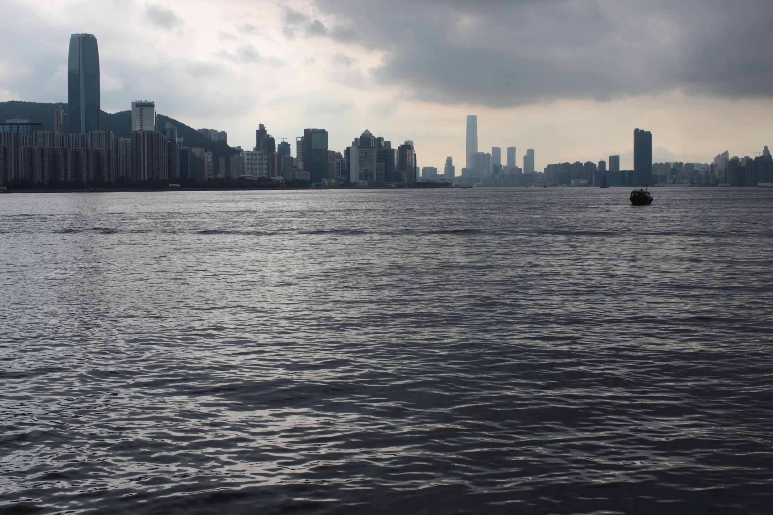 Hong Kong from the Southeast corner