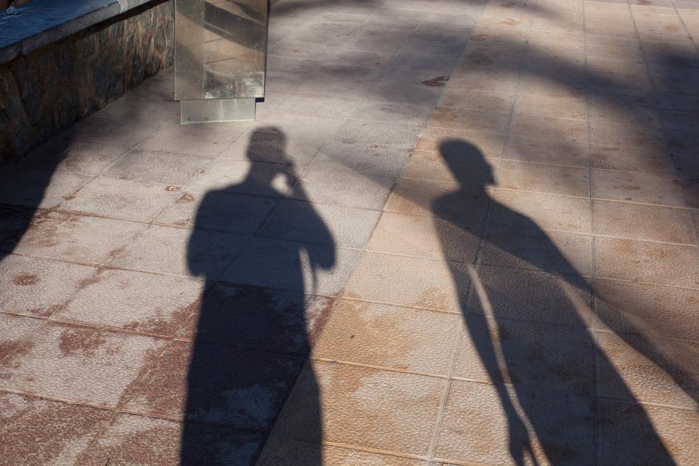 Self portrait of david and Jo Woolfall