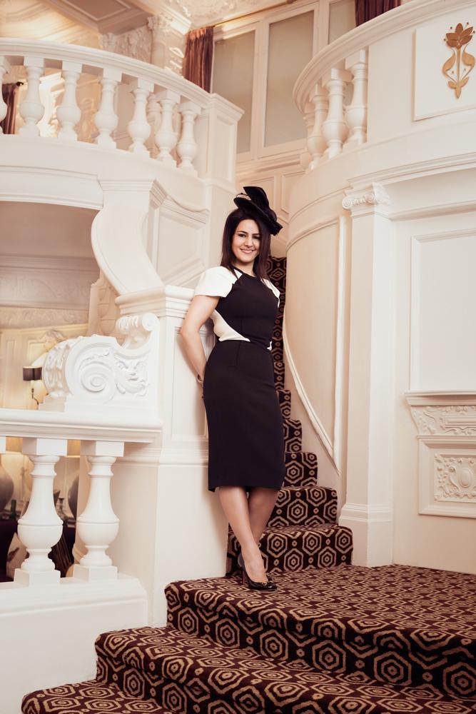 Kavita Oberoi in the St Ermins Hotel, London