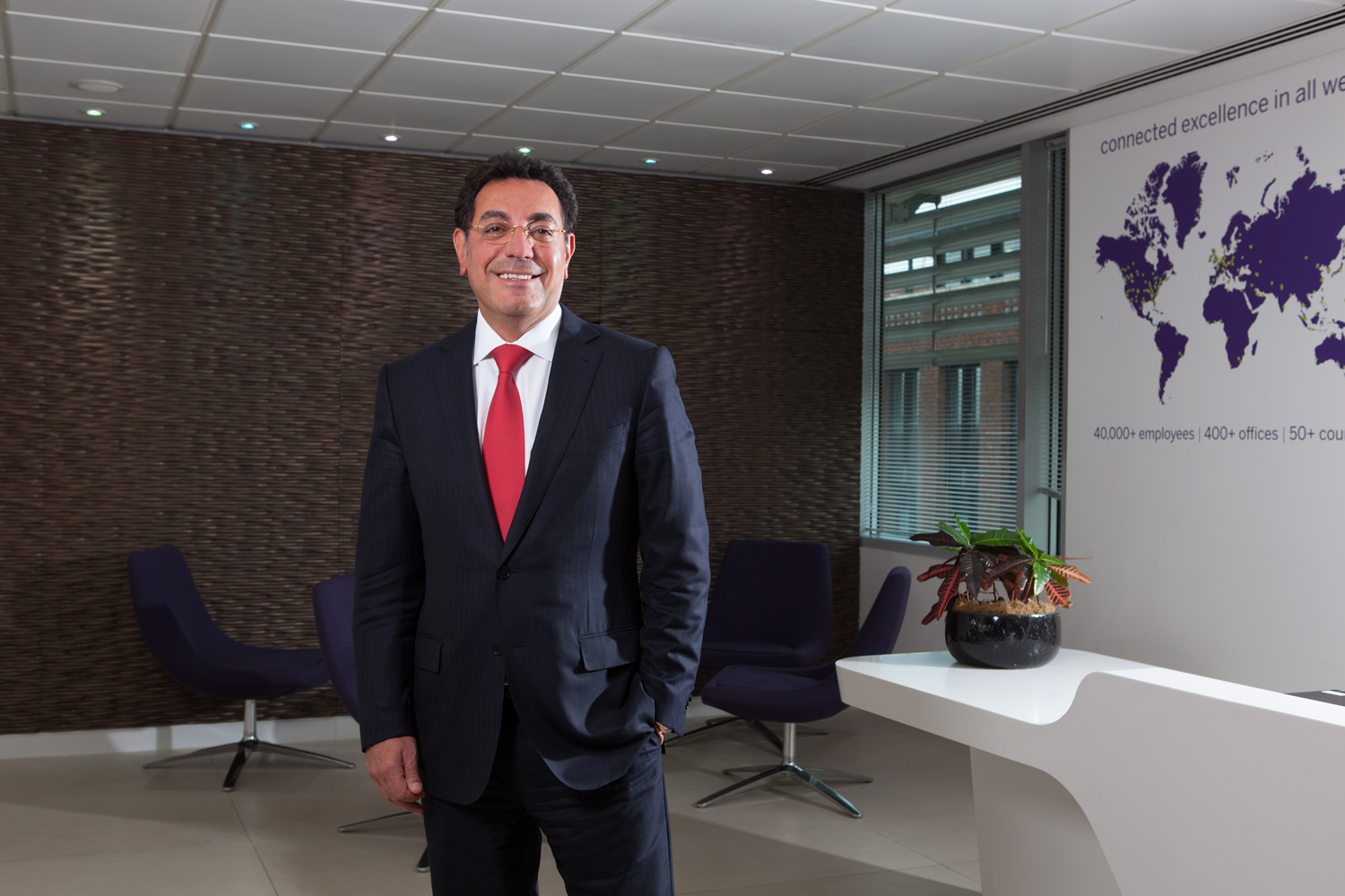 CEO photography by David Woolfall