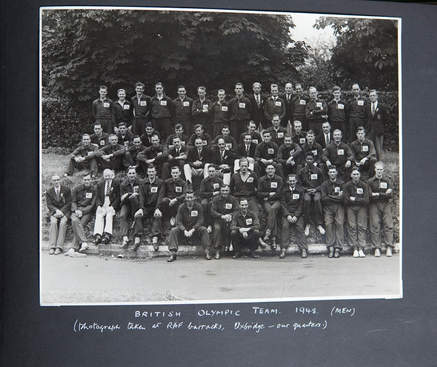 1948 British mens Olympics team