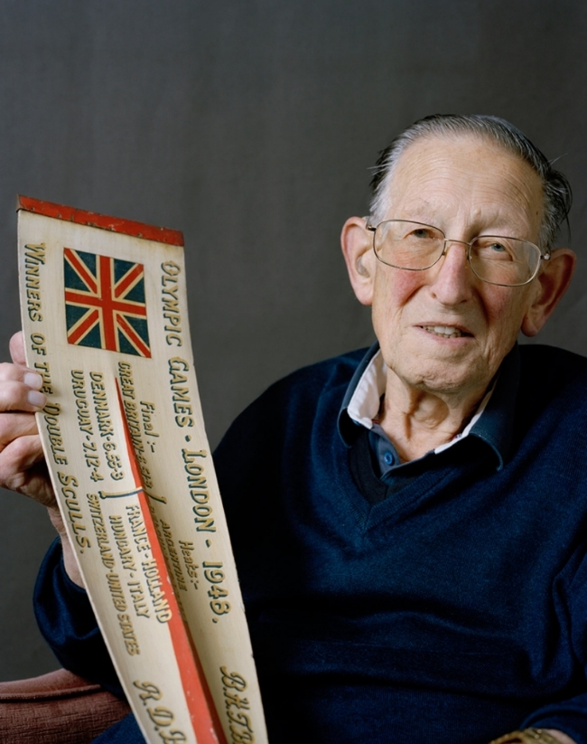 Bertram Bushnell, gold medallist, rowing