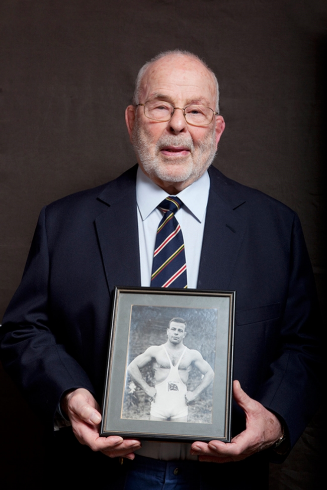 Ray Myland,Olympian, Greco Roman Wrestling