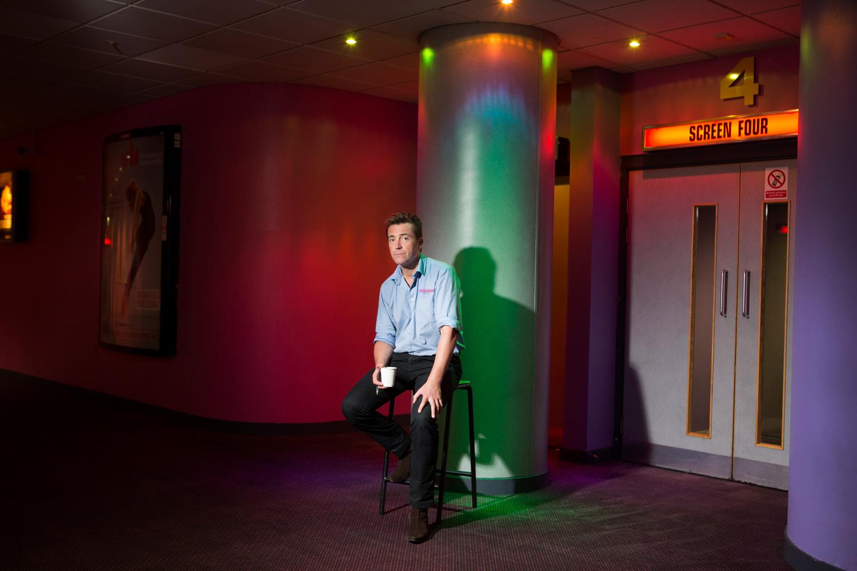 Geoff from Peckhamplex  #peckhamplex#independant cinemas#editorial photography#portraits#colourportraits#magazine#creative portraits#