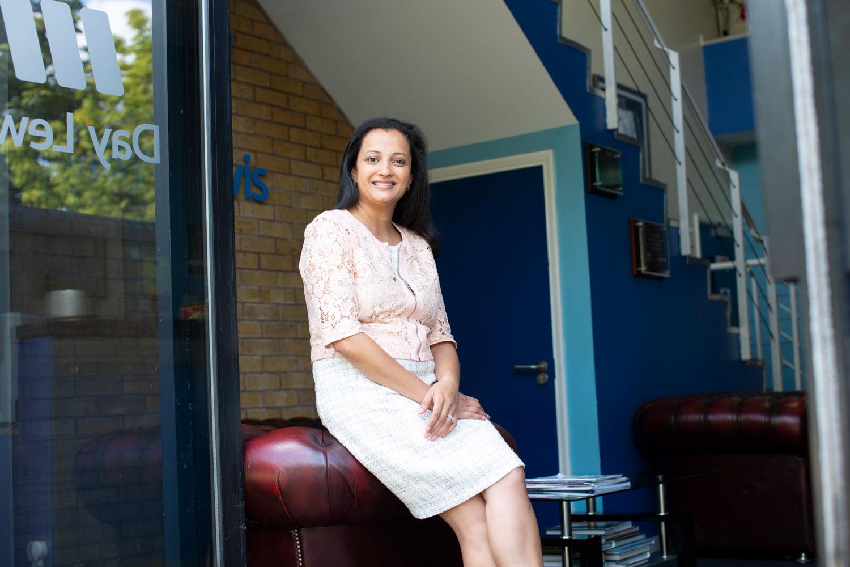 Rupa Patel, Day Lewis