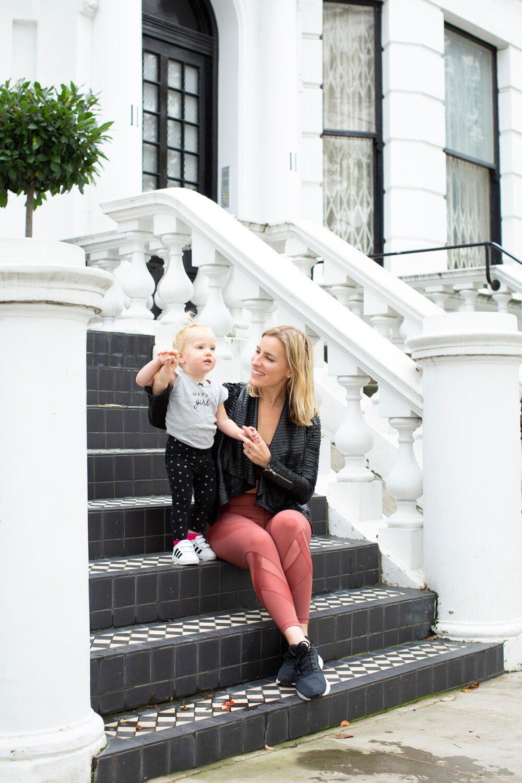 Jocelyn Steiber with Ashton in London