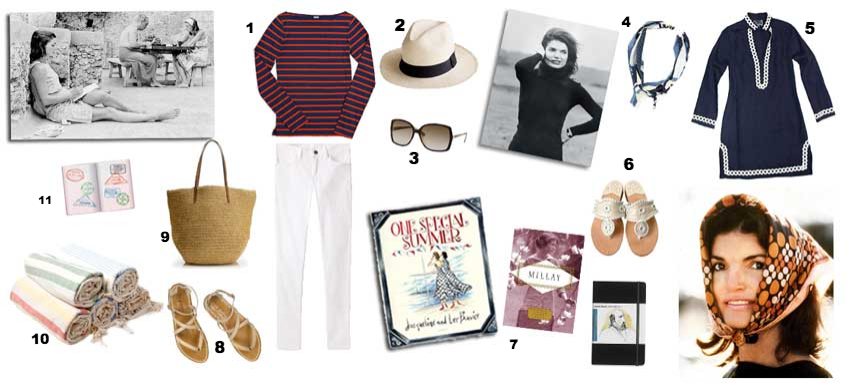 Channeling Jackie O. Jacqueline Onassis died 19 years ago this month and is as popular as ever. Click to enlarge.