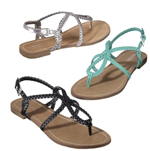 The $15 Emily sandal at Target. I have Turquoise.