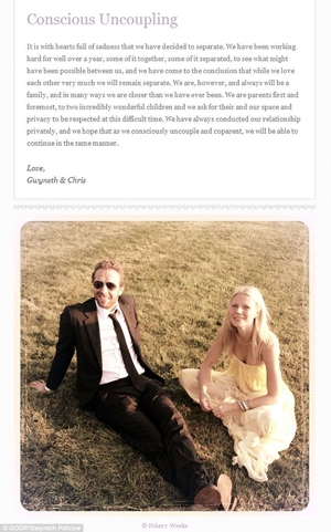The announcement that brought down Goop.com.