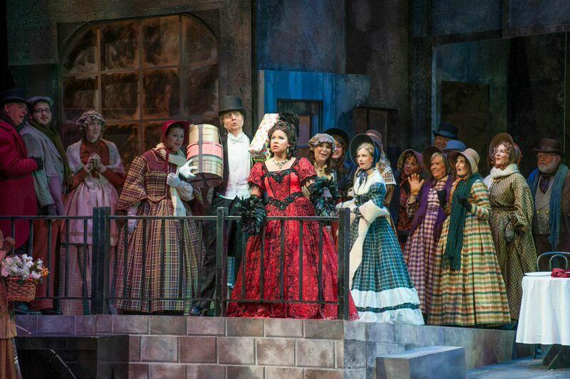 Musetta in La boheme at Pensacola Opera 2015