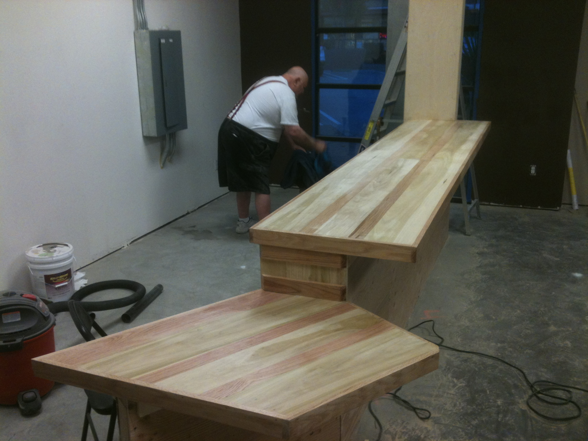 Bar Top Lower Section Complete