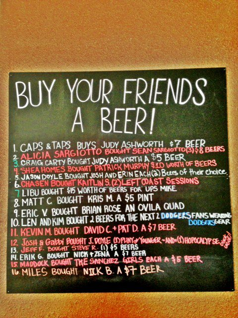 Buy Your Friend A Beer