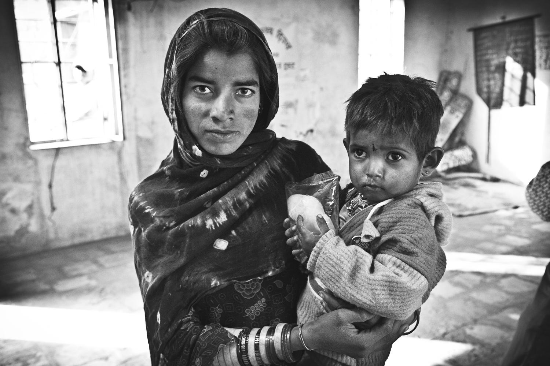 Kacchi Basti Schoolhouse / Sikar, Rajasthan
