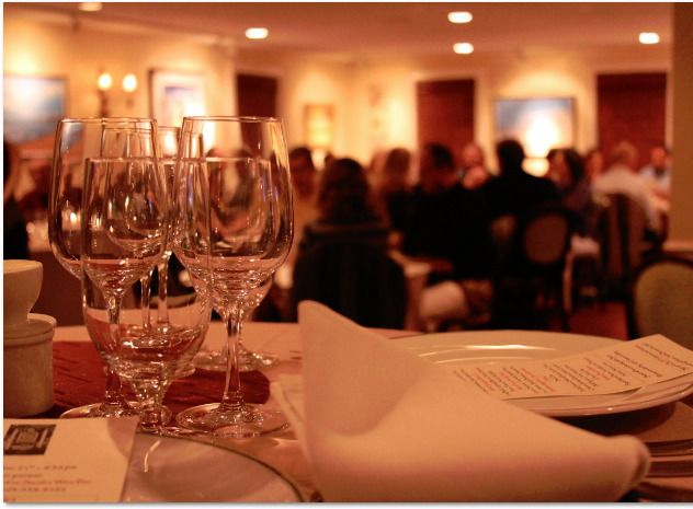 Wine Dinner at SWB