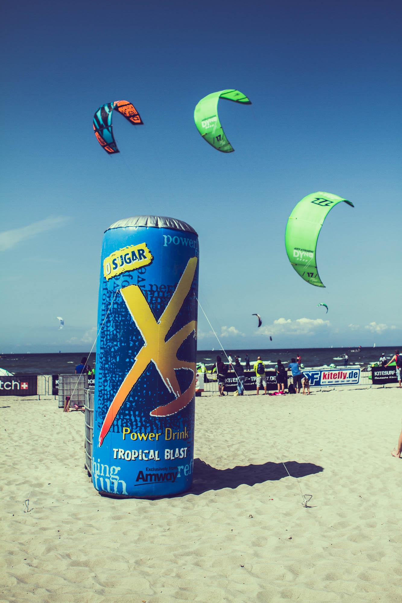 Im Zeichen der Kites: XS Powerdrink ist Sponsor der Kite Surf Trophy 2013