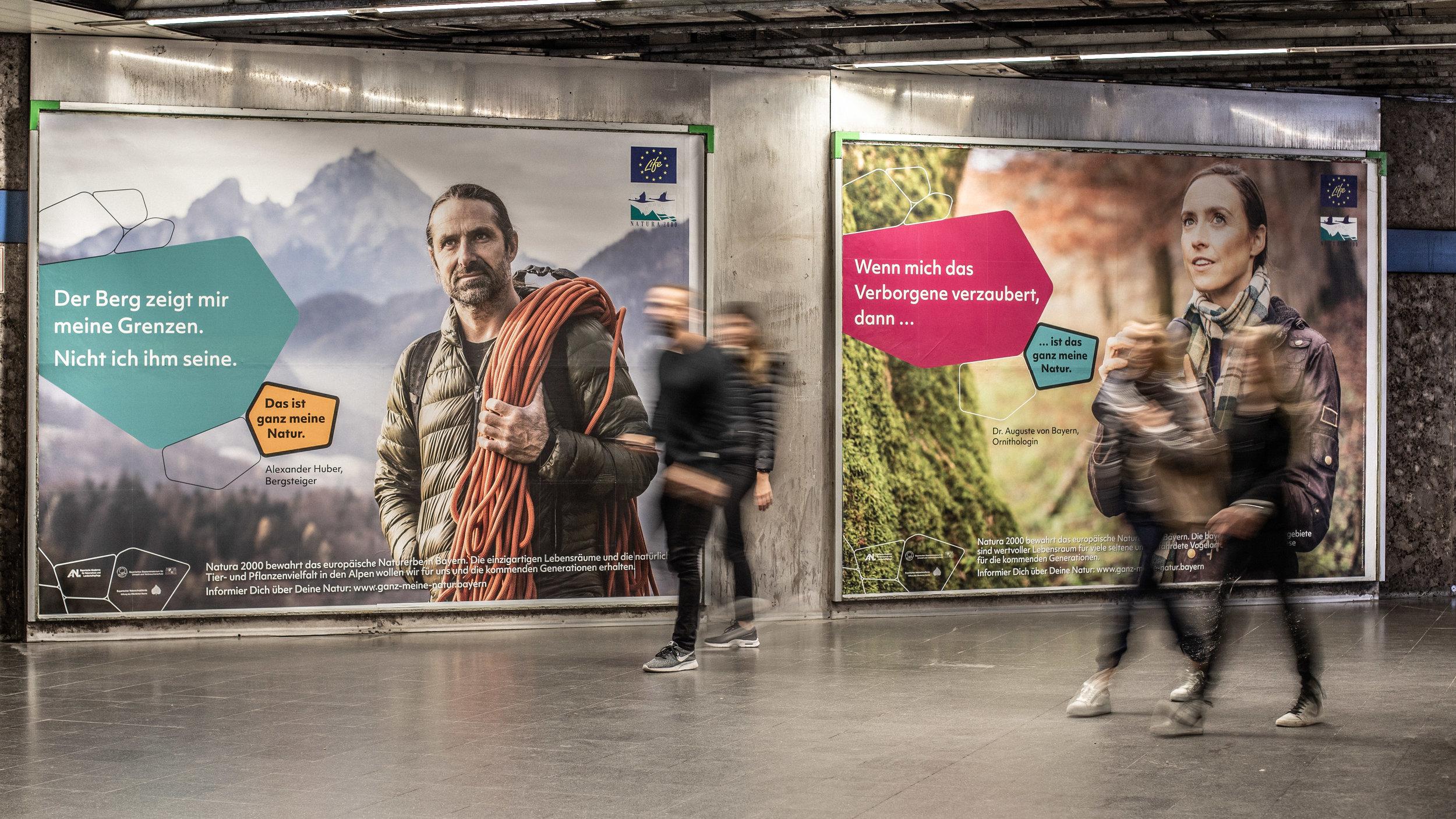 Plakatwerbung München
