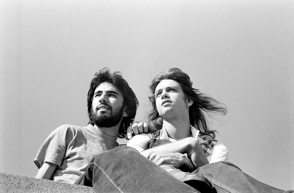 Lucien Samaha and Steve Biller, Georgetown, Washington DC - ca 1974