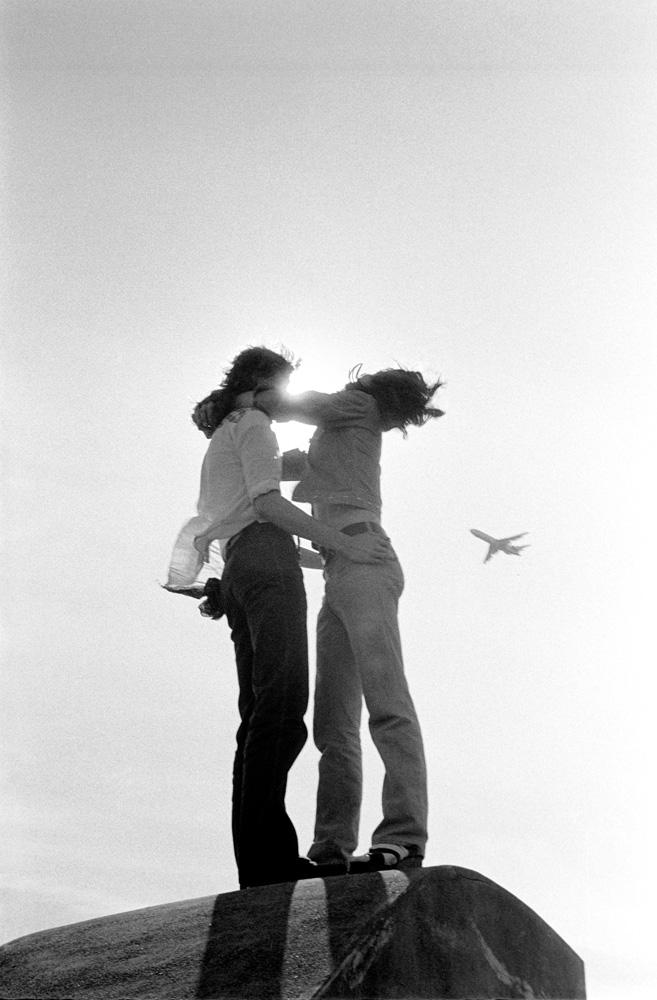 Steve Biller and Lowell Simmons, Georgetown, Washington DC - ca 1974