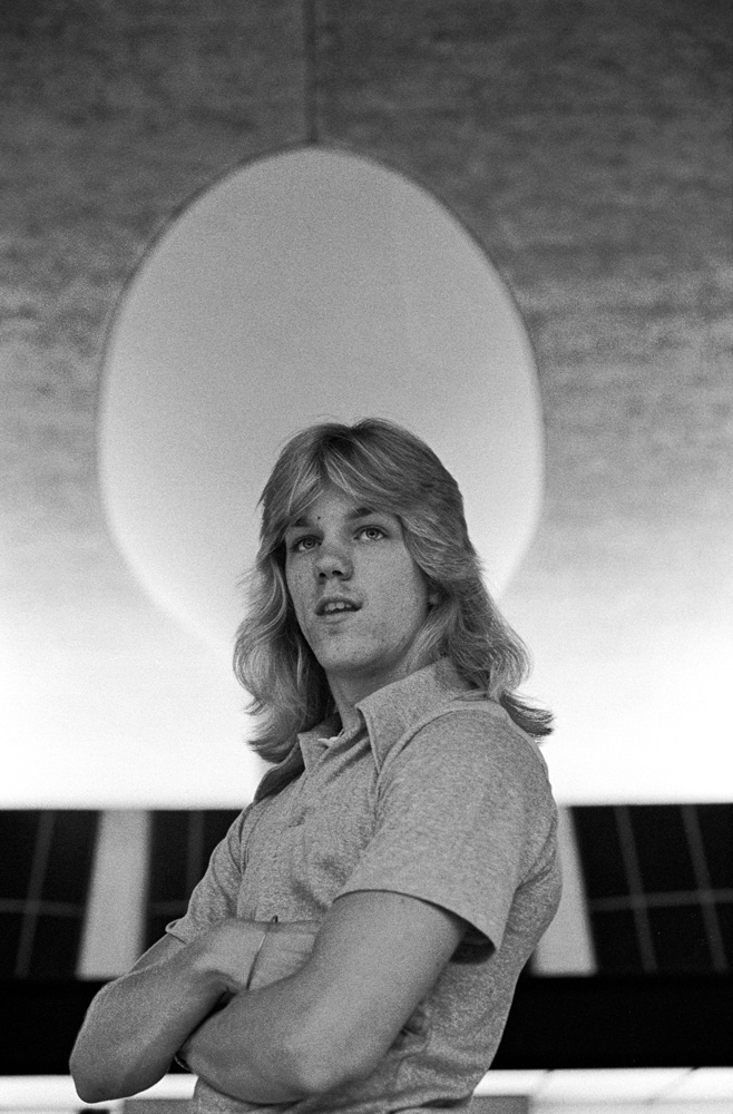 Robin Simmons, Dulles Airport, Northern Virginia - ca 1973