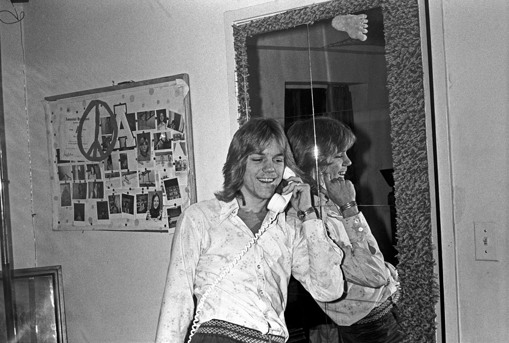 Robin Simmons, at home in Annandale, Virginia - ca 1974