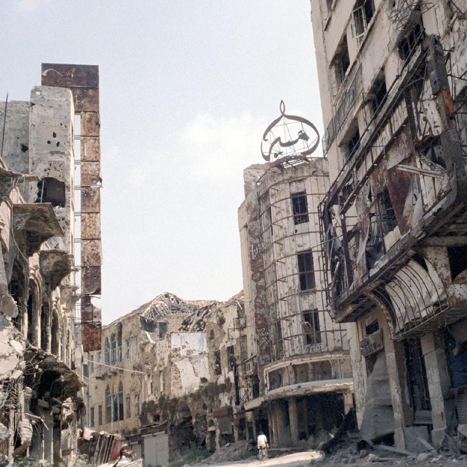 Lebanon - A Catalogue of Destruction
