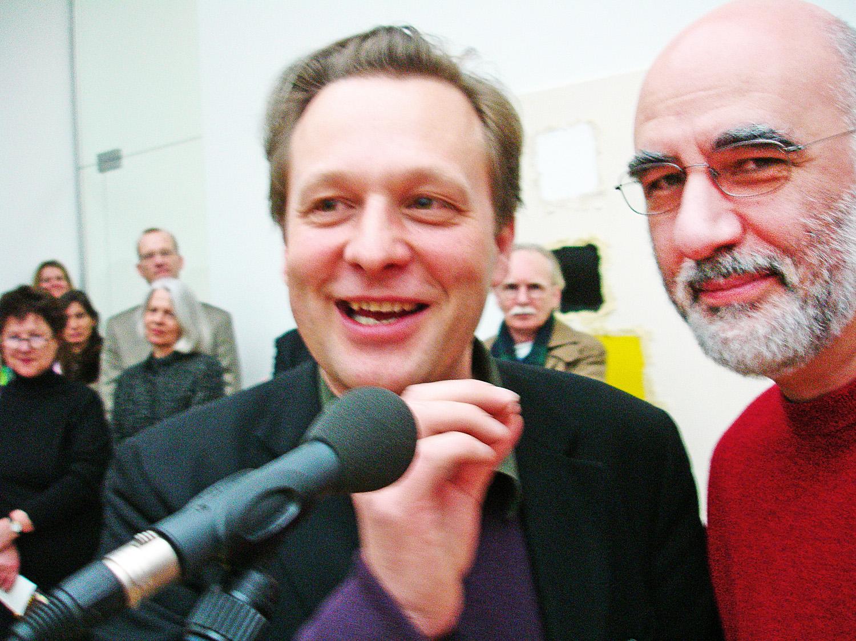 with Daniel Birnbaum