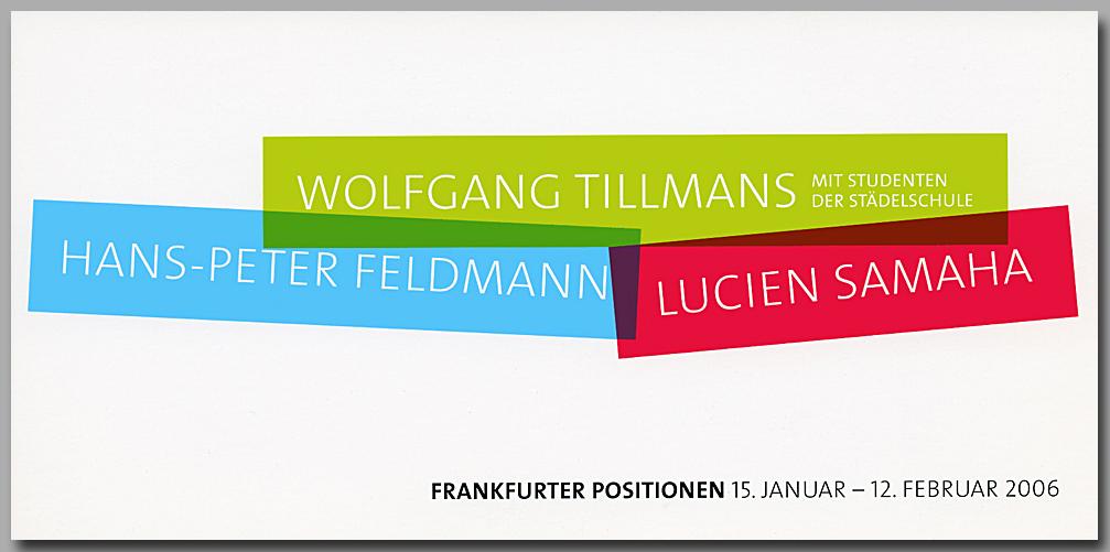 Gut ist was gefählt - Good is what pleases   Museum für Moderne Kunst - Museum of Modern Art  Frankfurt am Main, Germany