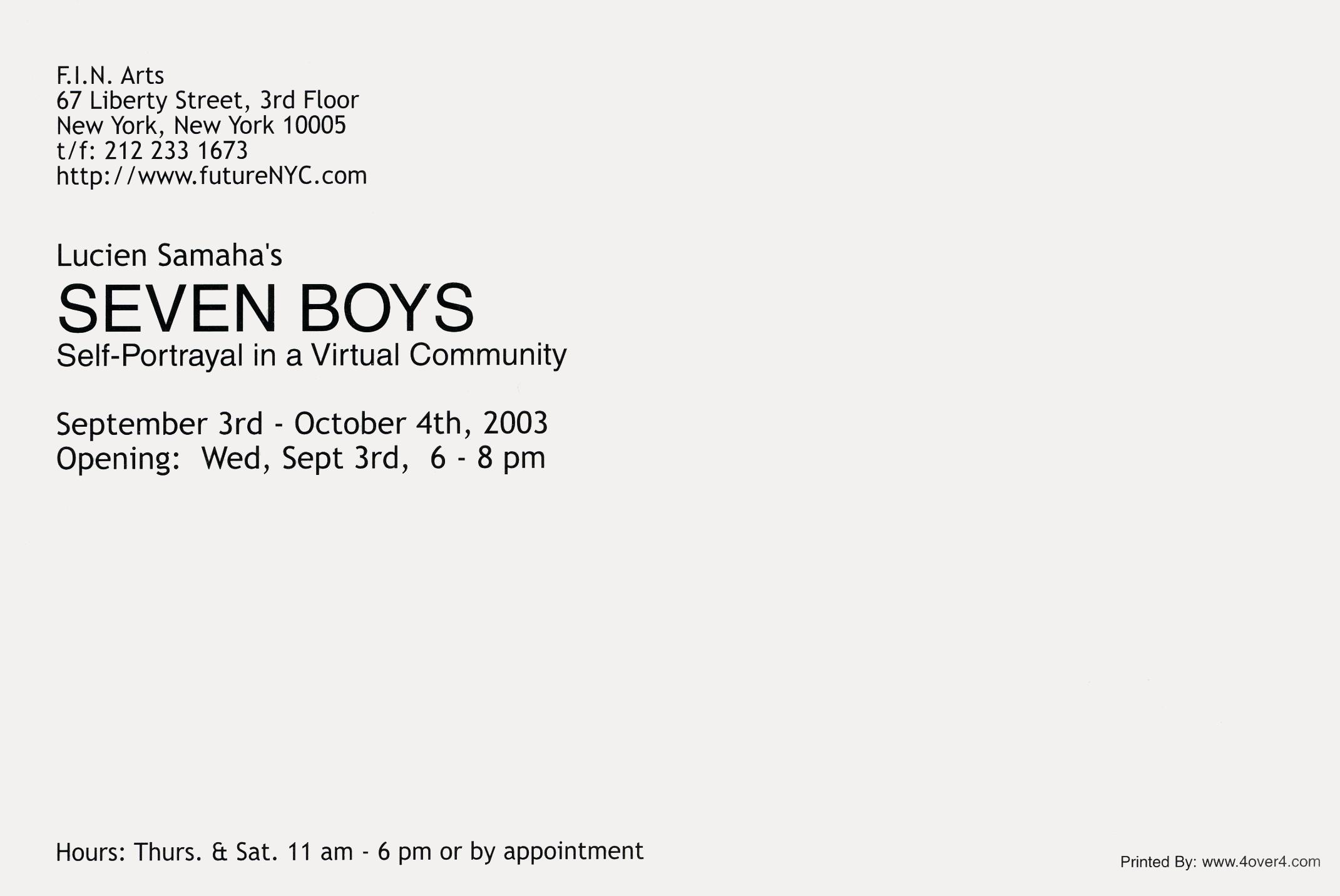 2003 Seven Boys Back.jpg