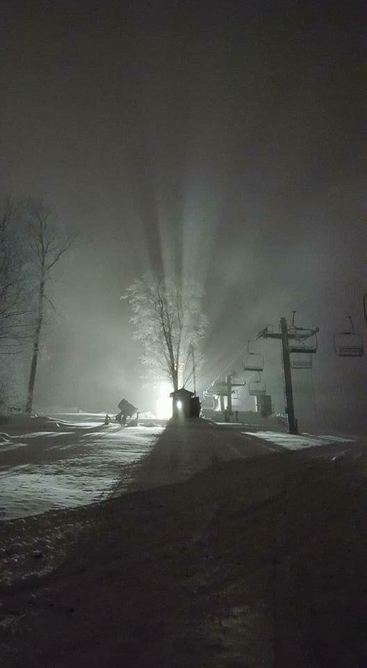 Thank you snow makers!