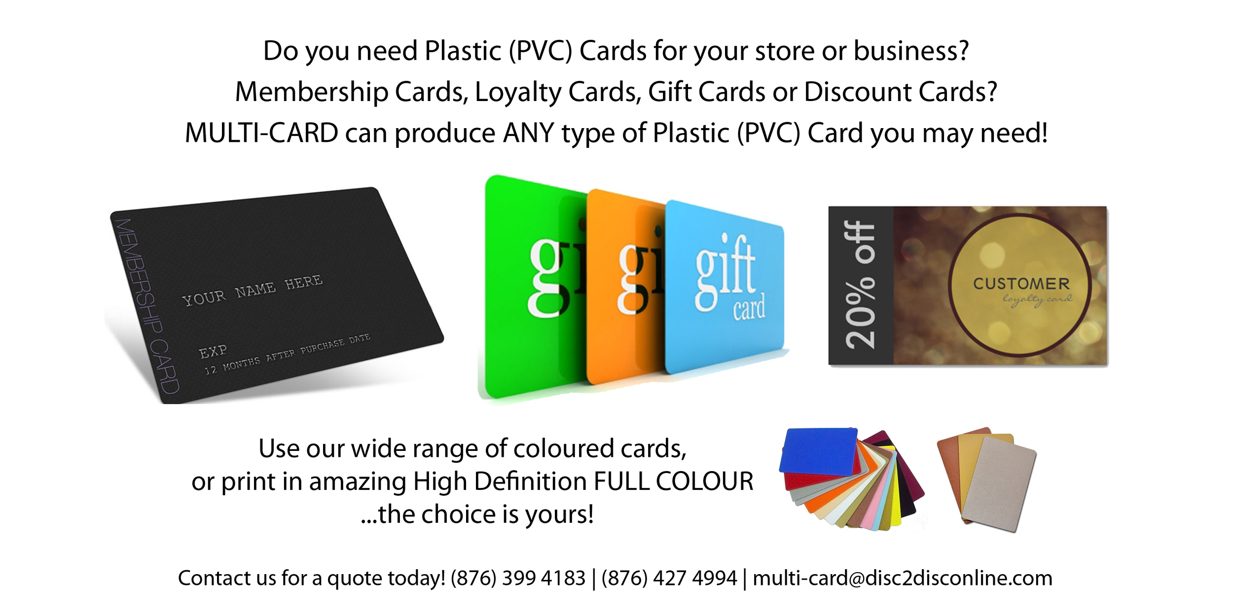 Multi-Card Limited — Disc2Disc | CD & DVD Duplication
