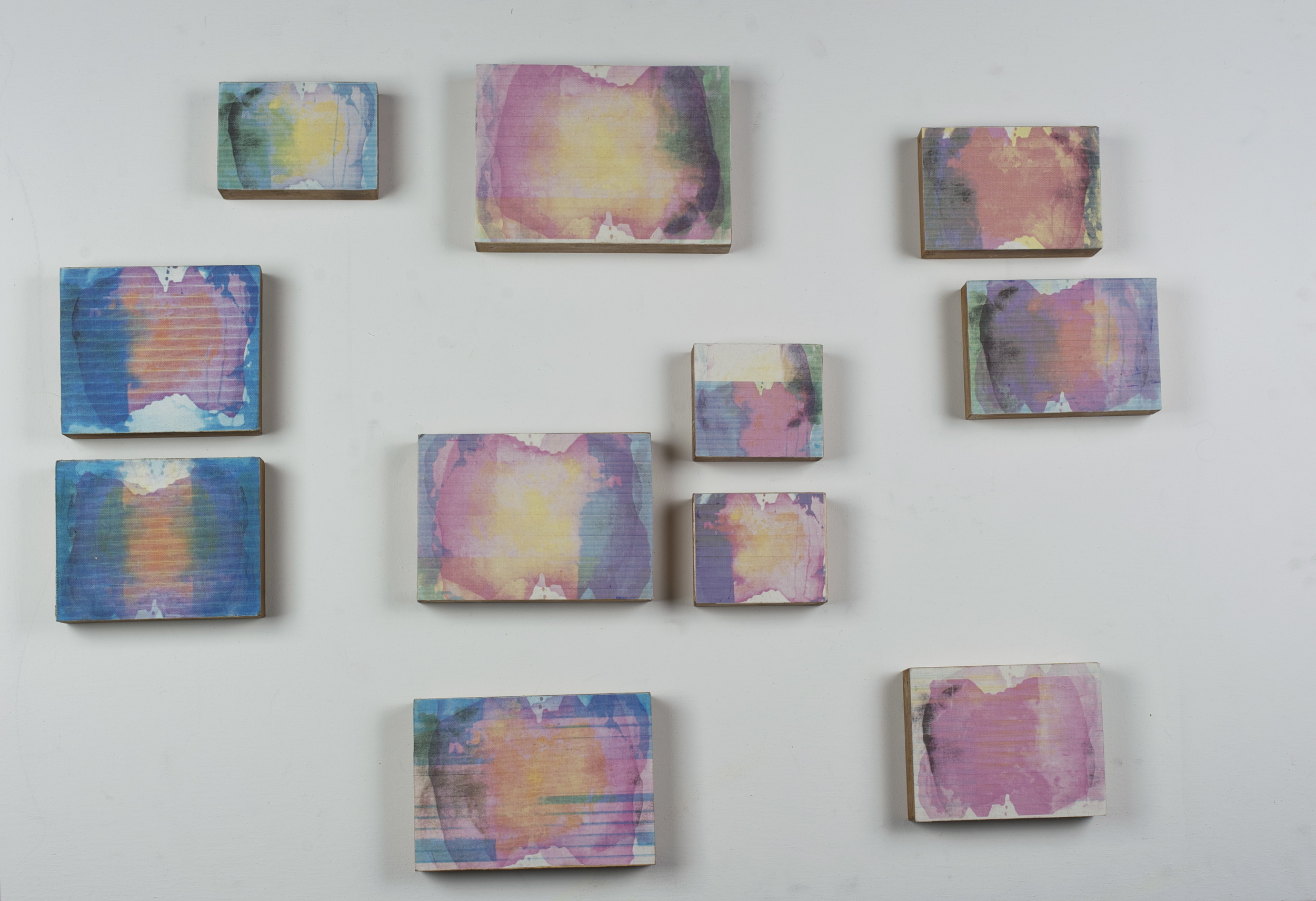 Causeway Variations , various sizes, inkjet on canvas, 2011