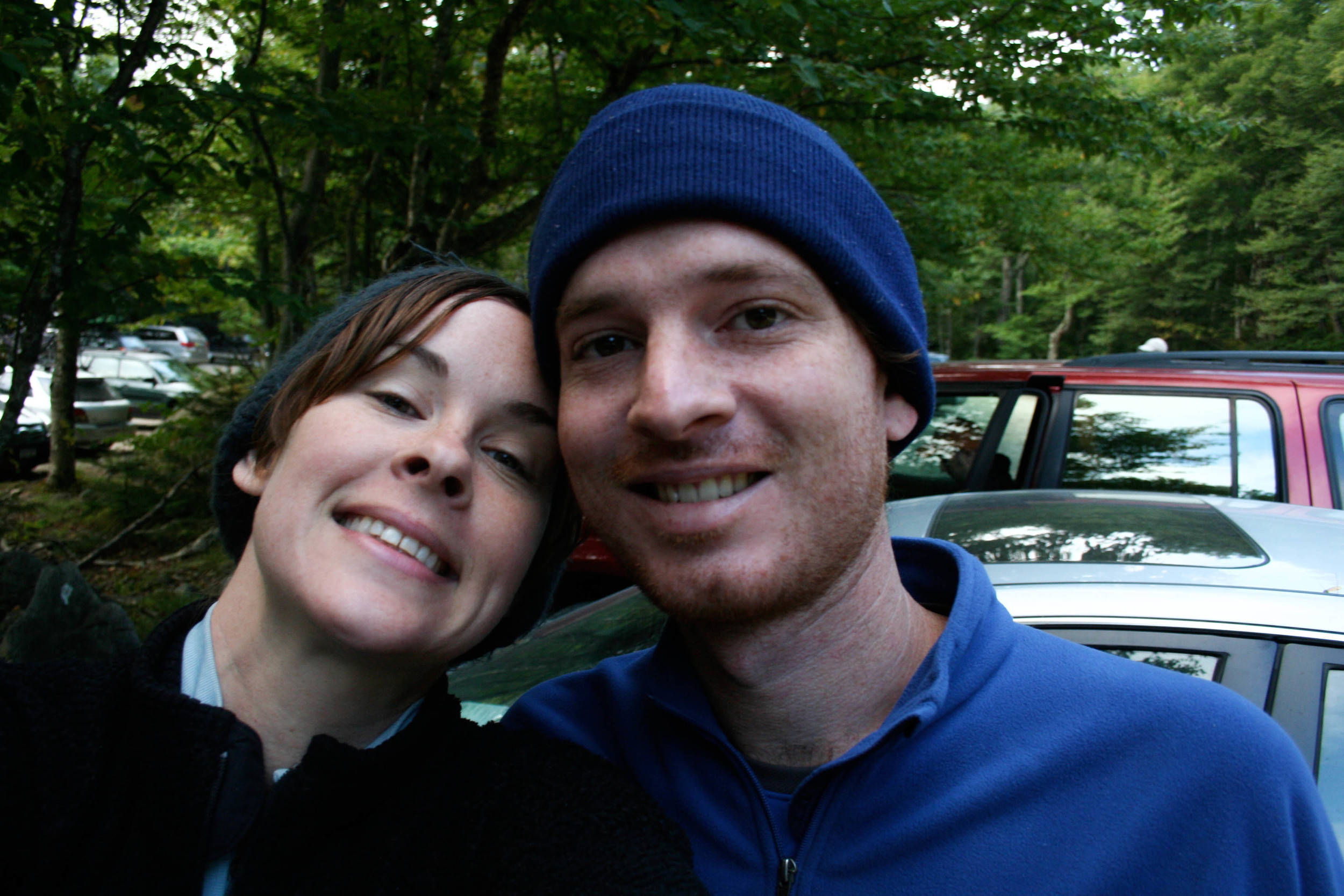 Us before hike