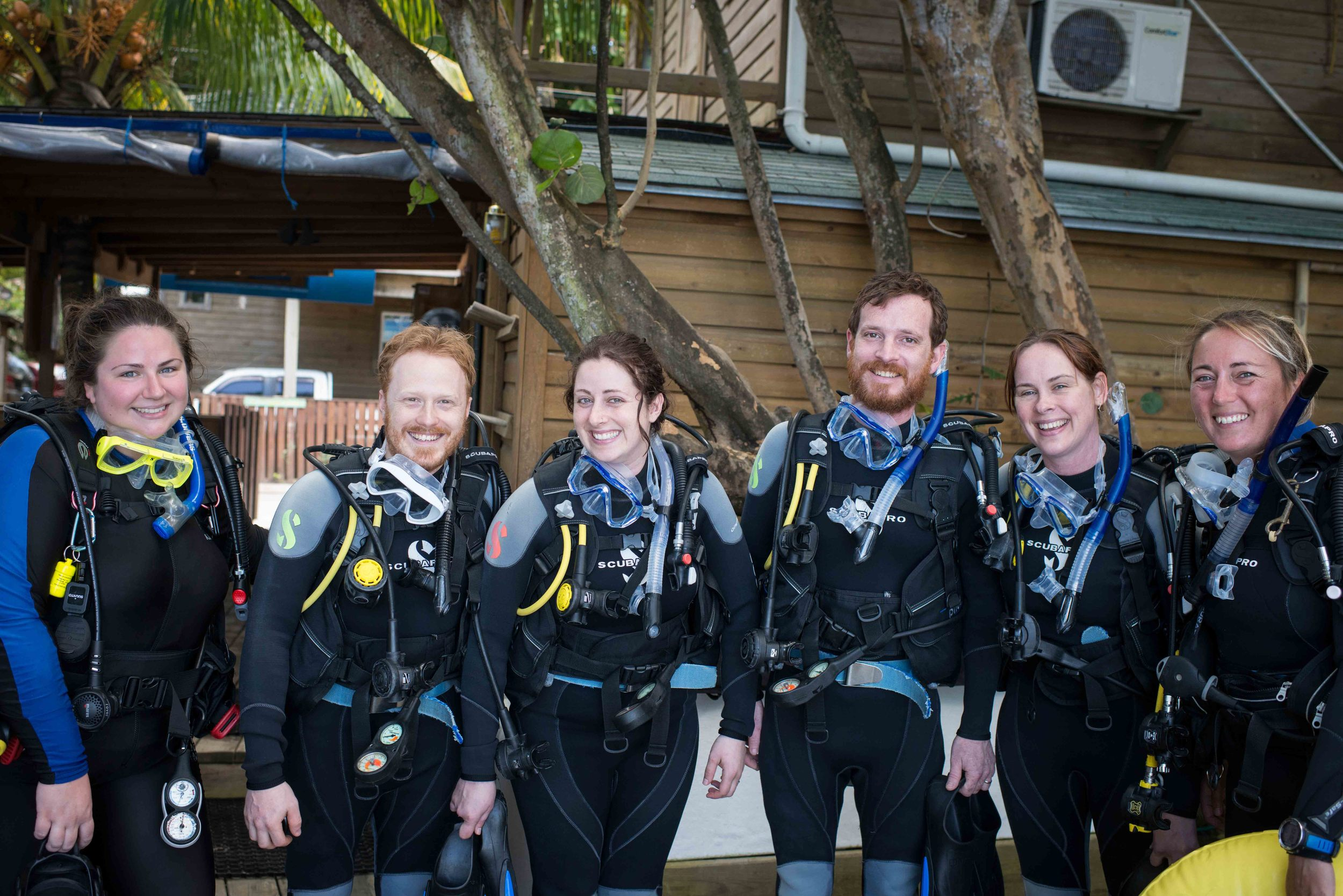 OUR FIRST DIVE!!!