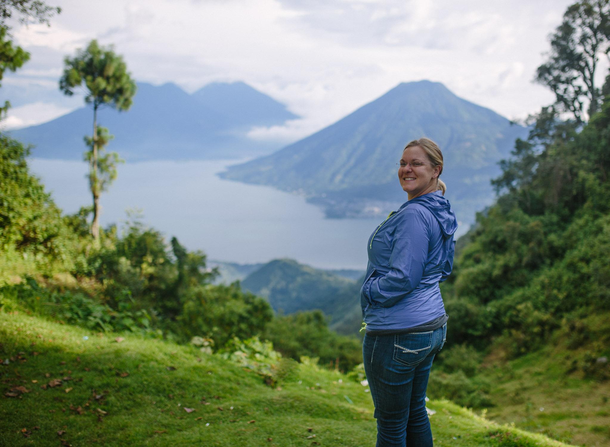 Lindsey and Lake Atitlan