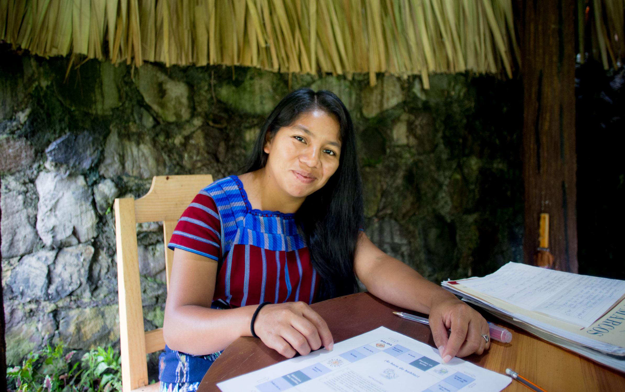 Natasha's teacher Kristina
