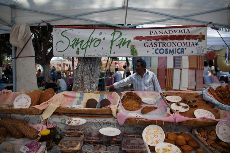 Delicious baked good at El Pachote, Oaxaca CIty - Mexico