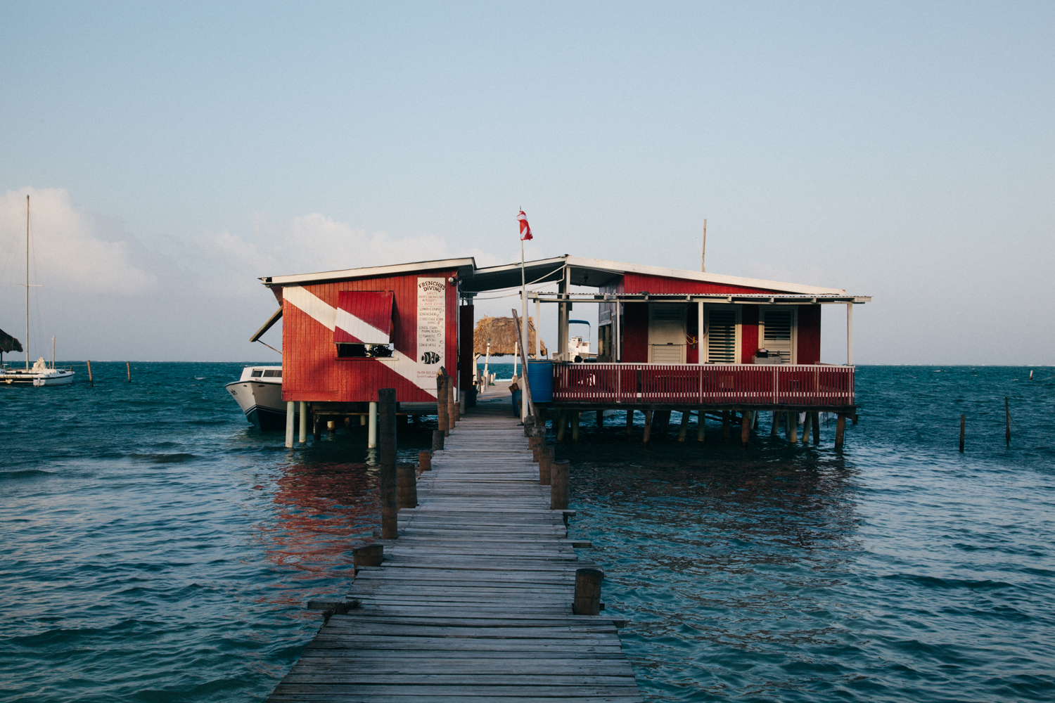 Frenchie's Dive Shop - One of the oldest and offering the most competitive prices on Caye Caulker