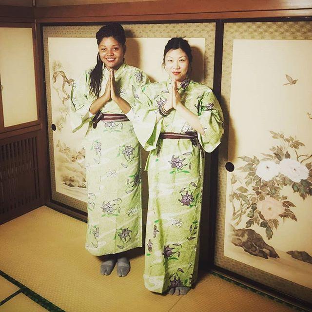 I❤onsens #iwantakimonoforCanada. #japan2018 #kimono #onsen