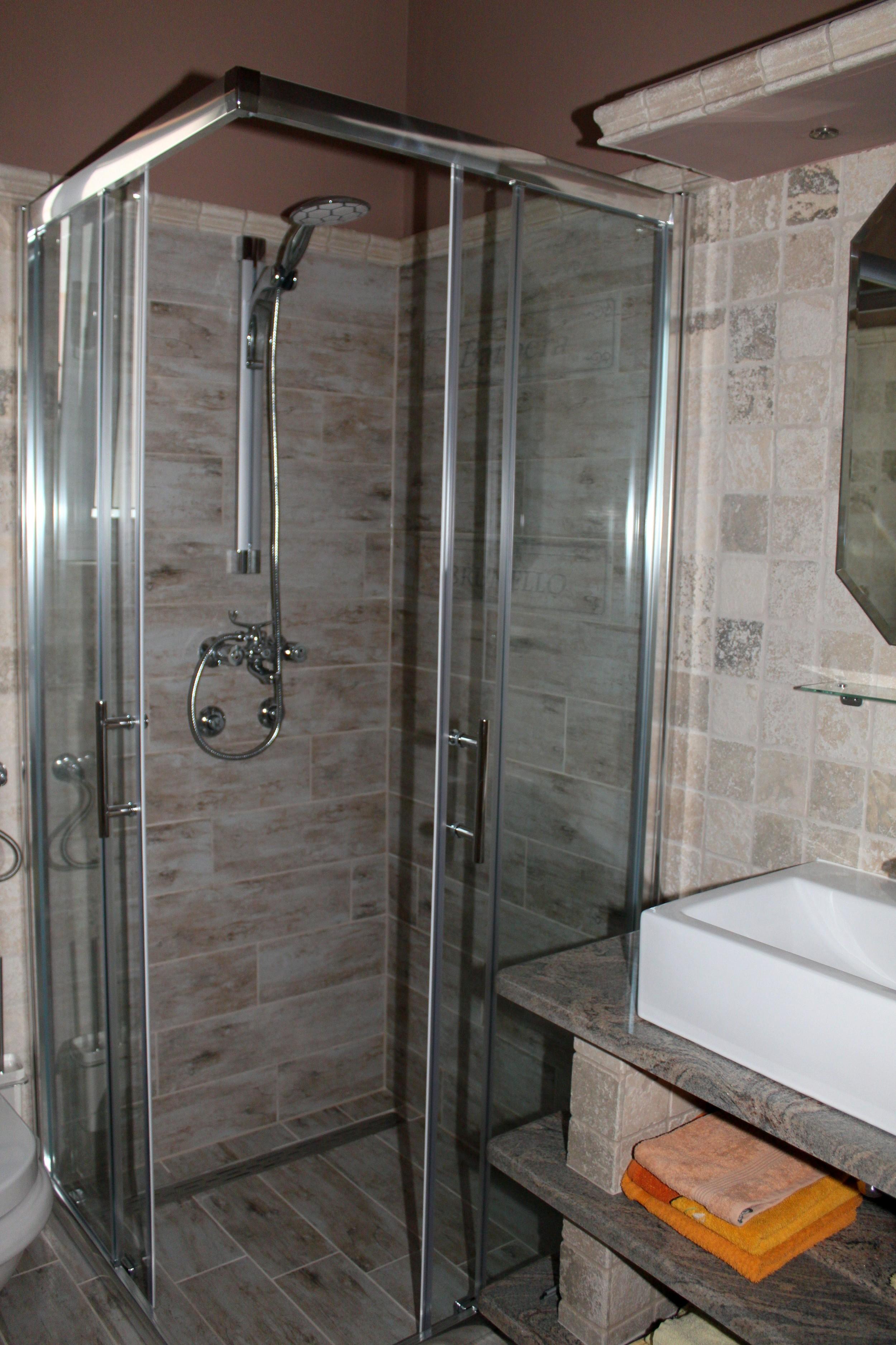 Bad med direkte inngang fra soverom.